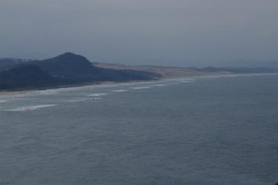・・・鳥取砂丘が見えた!...