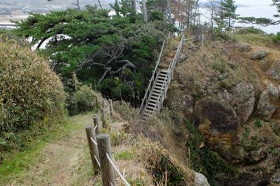 うげ、あの階段登るのか? と思...