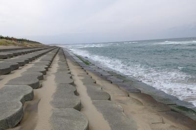 また砂浜が無くなった・・・。...