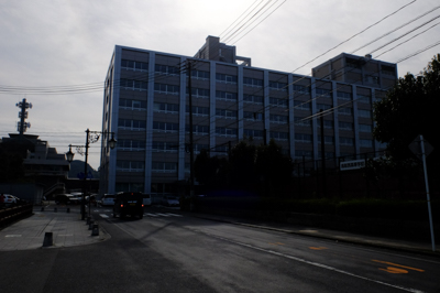 鳥取城跡から県庁はすぐ近くにあ...