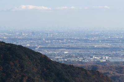 新宿の副都心も見える。...