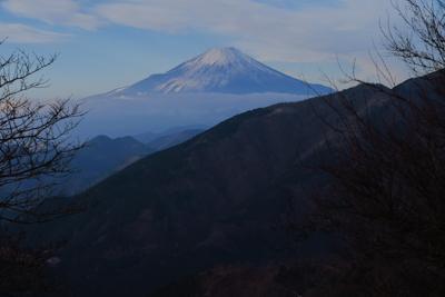富士見台からの富士山。...