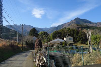 おっ! 今日登った大山(左から...