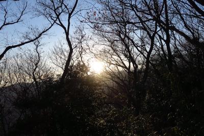 あぁ・・・太陽が稜線に沈んでい...