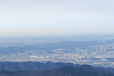 あっ! 筑波山も見える・・・。...