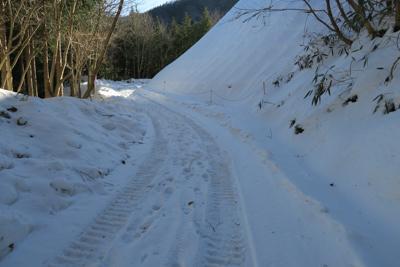 ・・・雪がいっぱい・・・。...