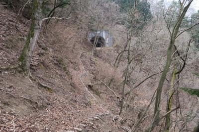 あっ! 清川トンネルが見えてき...