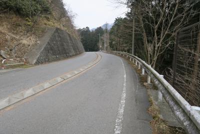 ここからは県道70号線を宮ヶ瀬...