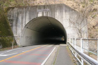ユルユル登って春ノ木丸トンネル...