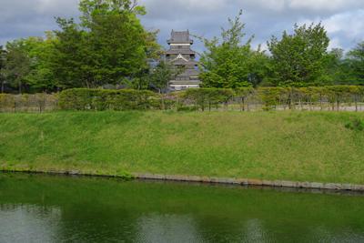 こここらもお城が見える。...