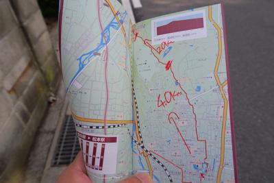 ここで塩の道トレイルの地図につ...