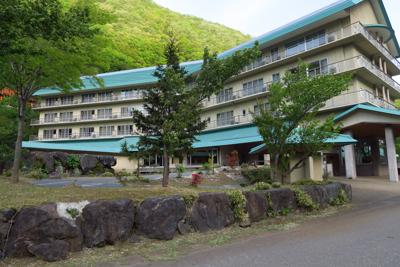 ホテル國富翠泉閣(姫川温泉)。...
