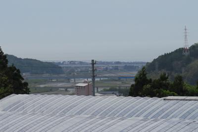 もう、糸魚川の町がすぐそこに見...