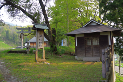 ・・・諏訪神社があります。...