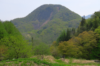 立山がよく見える。...