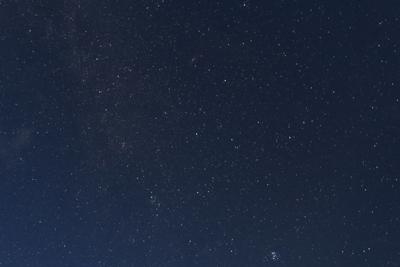 ・・・満点の星空が広がっていた...