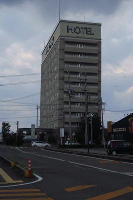 今日は松阪駅の近くのホテルに宿...