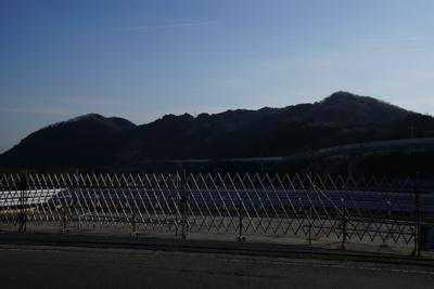 今日一日あの辺りの山の中をを歩...