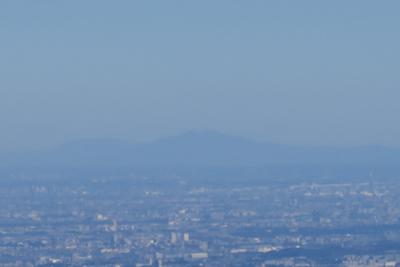 こっちは筑波山。...