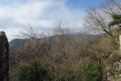 晴れていれば大山が綺麗に見えま...