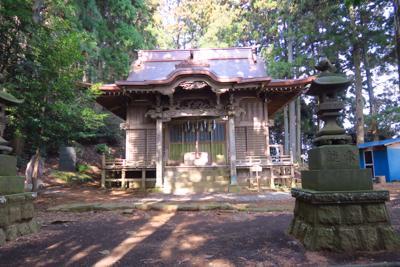 七沢浅間神社到着。...