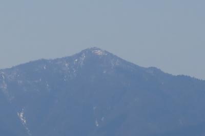 蛭ヶ岳。丹沢の最高峰。...