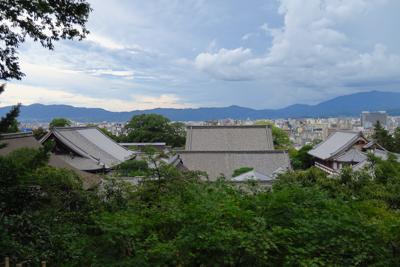 京都の街が一望です。...
