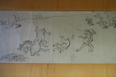 高山寺と言えば、鳥獣戯画のお寺...