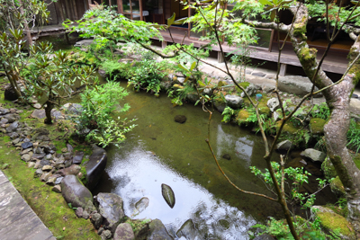 高山寺のお庭。...