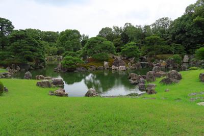 二条城のお庭。...