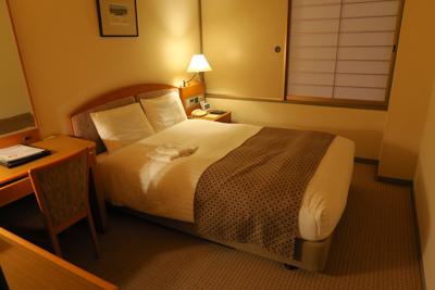 ・・・最後のホテルにチェックイ...
