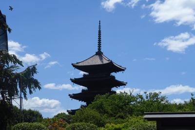 ・・・東寺です。ここの講堂、金...