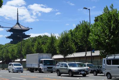 これで京都を後にします。1日目...
