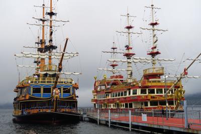 海賊船。...