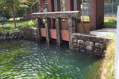 深良水門。この水門は何度か改修...