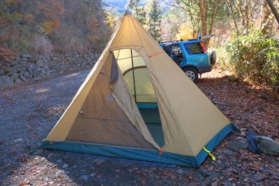 なにゆえこのテントにしたか? ...