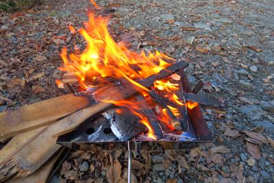 火がつきました。...