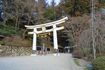 宝登山神社。...