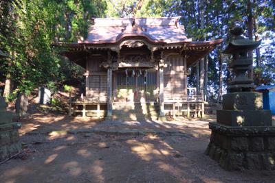 ・・・七澤神社に到着。...