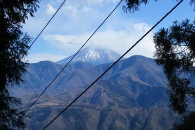 富士山が見えた! でも、ケーブ...