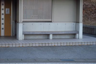 ・・・なでしこが寝ていたベンチ...