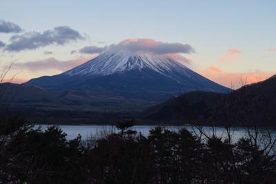 富士山ど〜ん!!!本当は身延山...