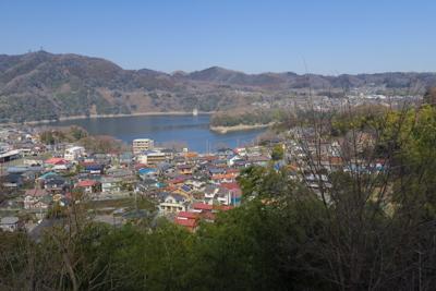 津久井湖をこの角度で見るのは初...