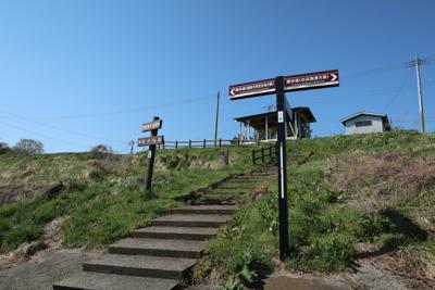 漁港の中にも道標はあります。...