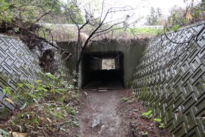 トンネルをくぐって・・・...