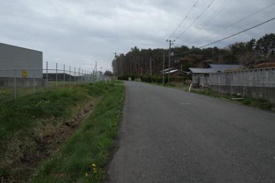 ・・・通りに出た。この道ならい...