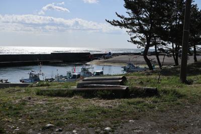 ここが、宿戸漁港?...