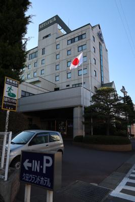 こんばんのホテル到着。本当に駅...