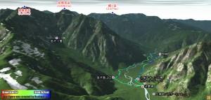 天候不順の為に前穂高岳を断念して小梨平でキャンプ