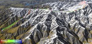 青根から雪の蛭ヶ岳へ